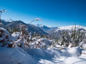 gitamiglos hiver neige vallée montagne