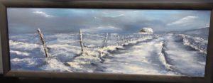 peinture neige ariège
