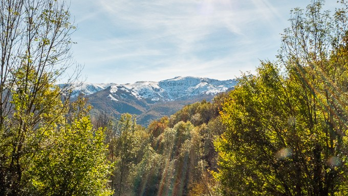 automne ariège neige montagne