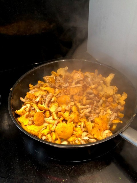 girolles poelle cuisson